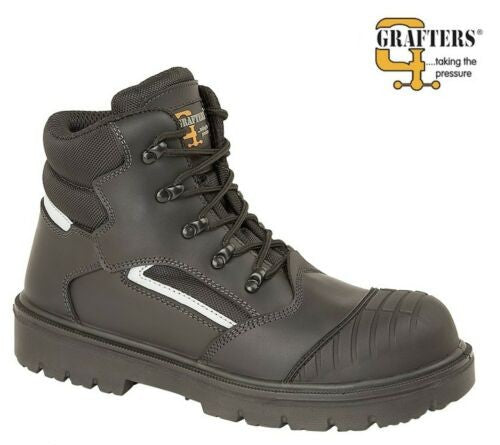 Grafters Jontex Safety Boots 850