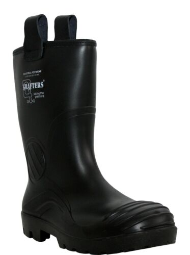 Grafters Wellington Boots Full Safety Warmliner 928