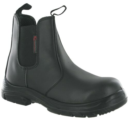 Grafters EEEE SuperWide Extra Fit Dealer Safety Boots 9502