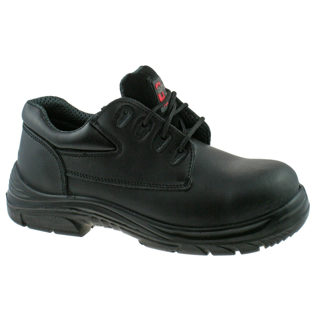 Grafters EEEE SuperWide Extra Fit Safety Shoes 9504