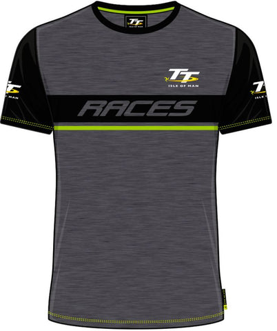 Official Isle of Man TT T-shirt - Custom Races ACTS2