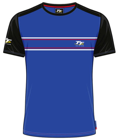 Official Isle of Man TT T-shirt - Custom Royal Blue ACTS6