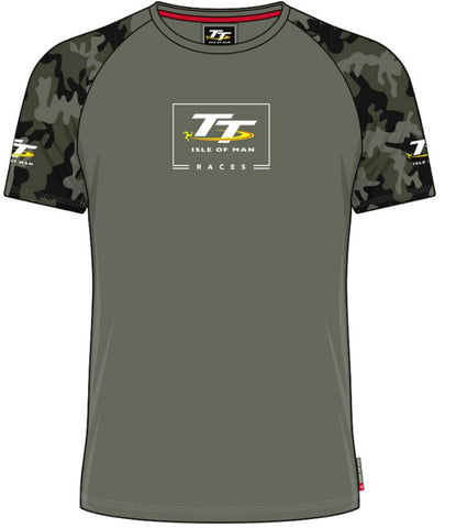 Official Isle of Man TT T-shirt - Custom Camo ACTS7