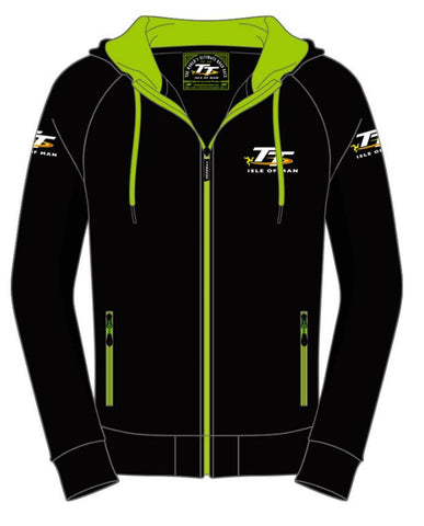 Official Isle of Man TT Hoodie Zip AH3