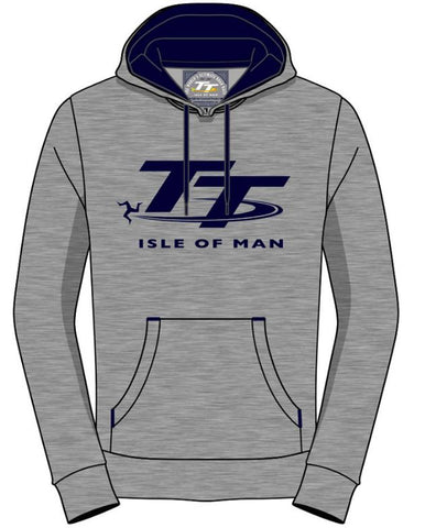 Official Isle of Man TT Hoodie Grey AH6