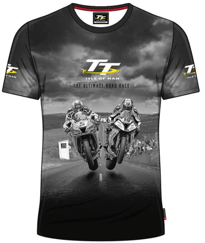 Official Isle of Man TT T-shirt - All over Print AOP3