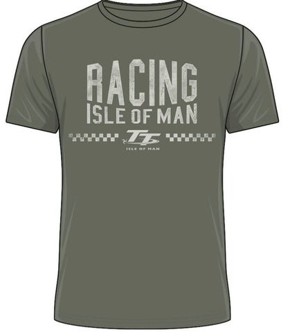 Official Isle of Man TT T-shirt - Racing Isle of Man ATS9