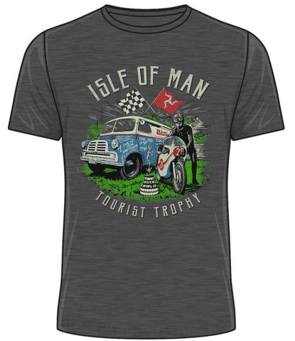 Official Isle of Man TT T-shirt Vintage Tourist Trophy ATS23