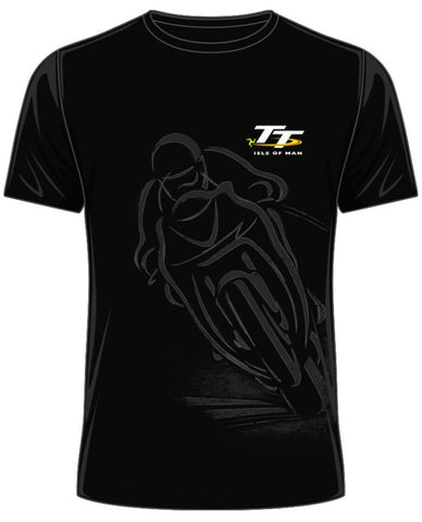Official Isle of Man TT T-shirt Shadow Bike ATS2