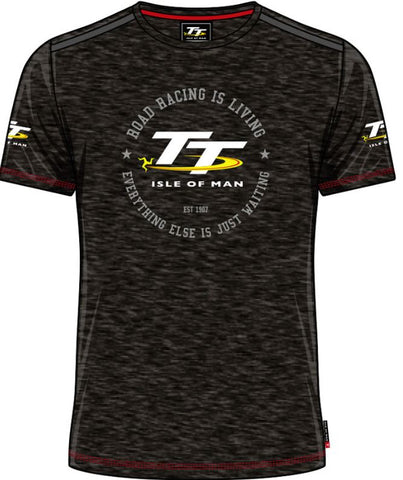 Official Isle of Man Vintage TT T-shirt Racing is Living VTS1