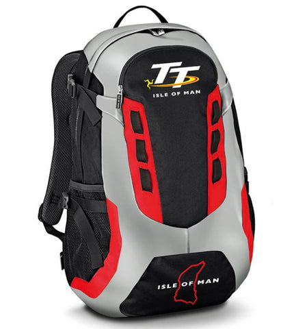 Official Isle of Man TT Road Races Rucksack Back Pack
