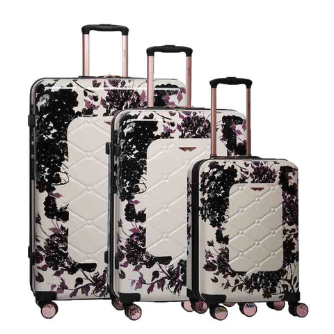 Suitcase Aerolite Black Rose 8 wheel 815