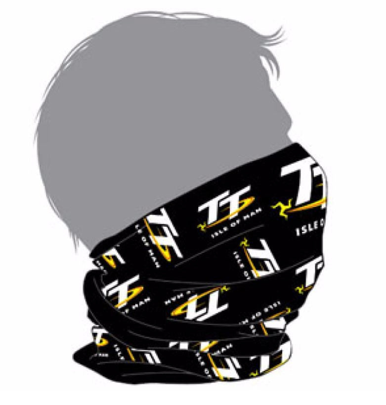 Official Isle of Man TT Multinational Scarf Bandana 1