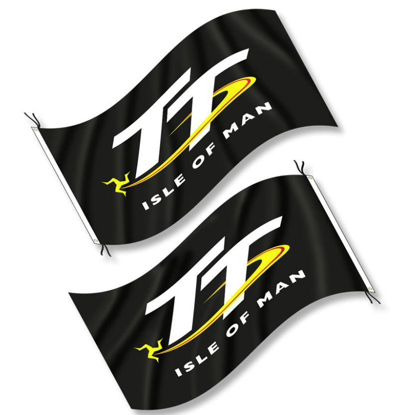 Official Isle of Man TT Flag - Heavyweight