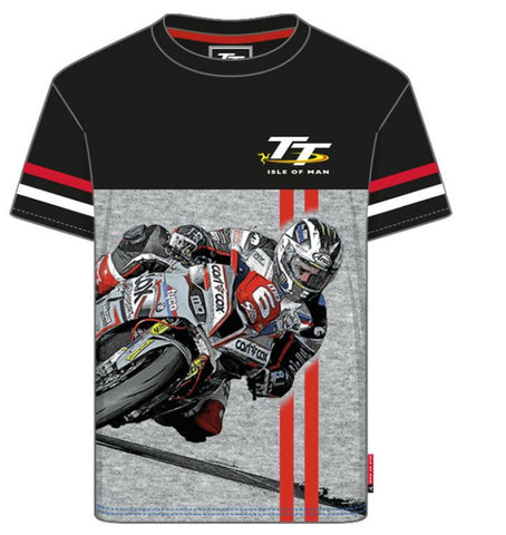 Official Isle of Man TT Kids T-shirt- Bike No. 6 ZKCTS3