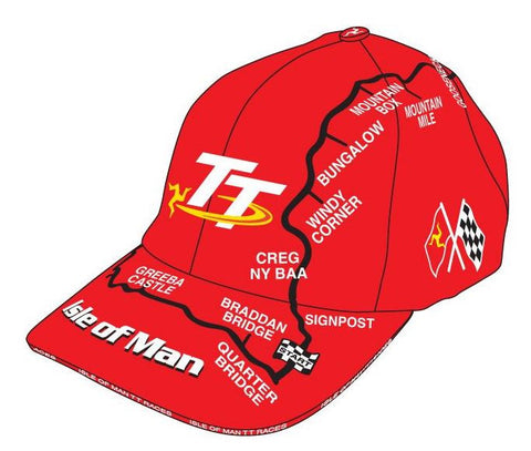 Official Isle of Man TT Cap Mountain Course - TT Kids