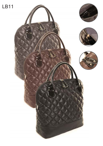 Hawkins Diamond Quilted Handbag LB11