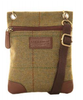 Hawkins Country Classic Collection Tweed Small Cross Body Bag LB23