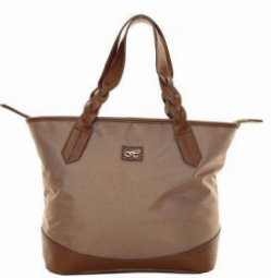 Hawkins Nylon Shopper With Plait Handles LB39