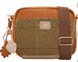 Hawkins Country Classic Collection Tweed  Shoulder Bag LB43