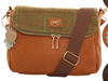 Hawkins Country Classic Collection Tweed large Cross Body Bag LB49