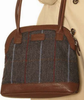 Hawkins Country Classic Collection Tweed Bowler Bag LB54