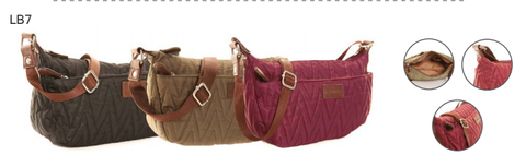 Hawkins Zigzag Cross Body Bags LB7
