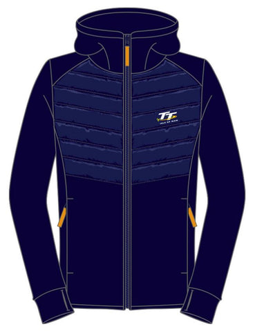 Official Isle of Man TT Merchandise - Ladies Hoodie Zip LH3