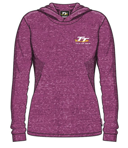 Official Isle of Man TT Ladies Hoodie LH5