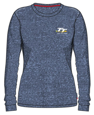 Official Isle of Man TT Ladies Sweat LSW6