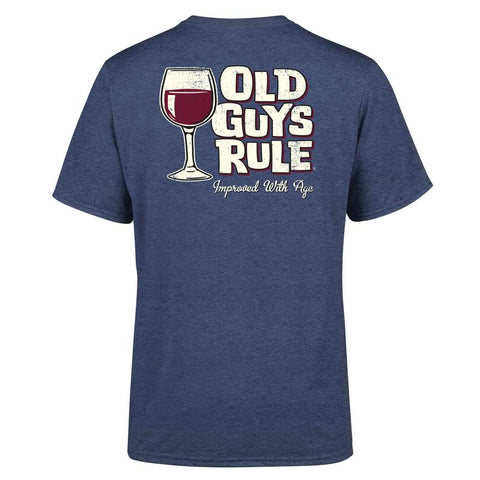 Old Guys Rule Improved with Age T Shirt