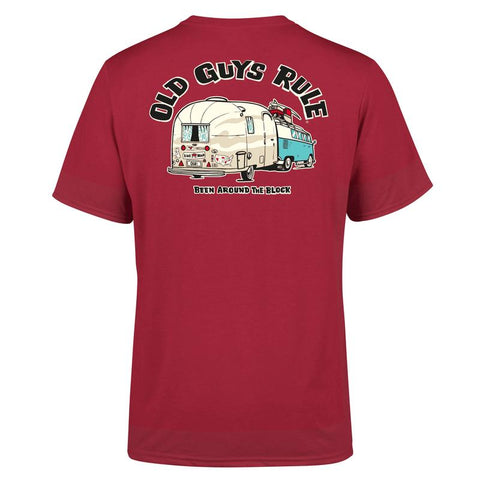 Old Guys Rule Been around the Block T Shirt