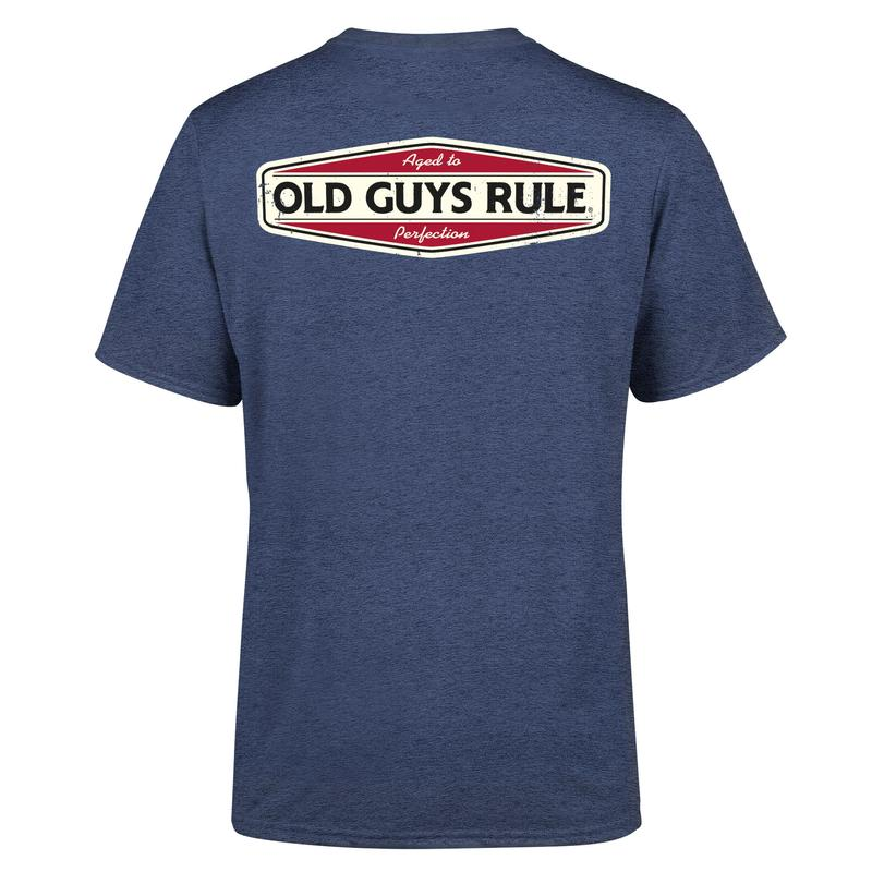 Old Guys Rule Aged to Perfection T Shirt