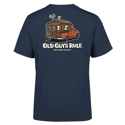 Old Guys Rule Home is Where... T Shirt