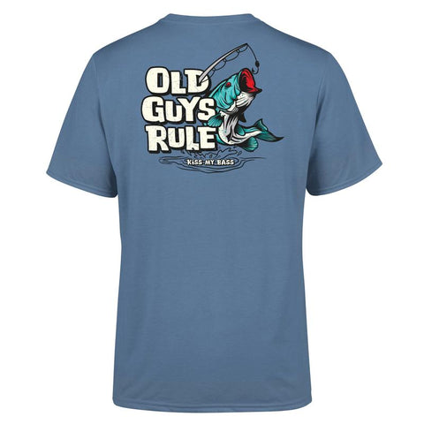 Old Guys Rule Kiss my Bass T Shirt