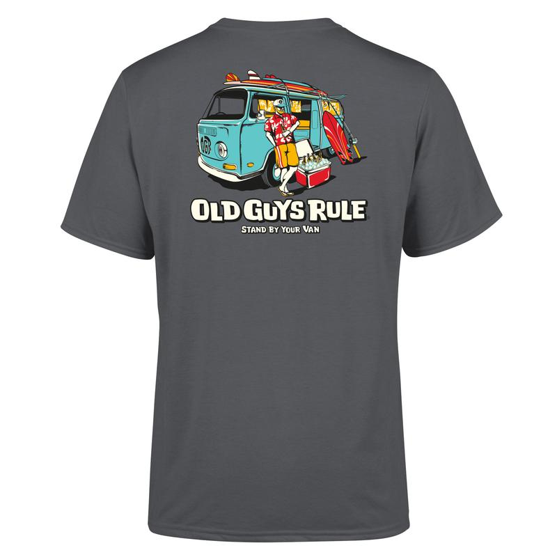 Old Guys Rule Stand by your Van 2 T Shirt