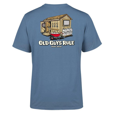 Old Guys Rule Home Brew T Shirt