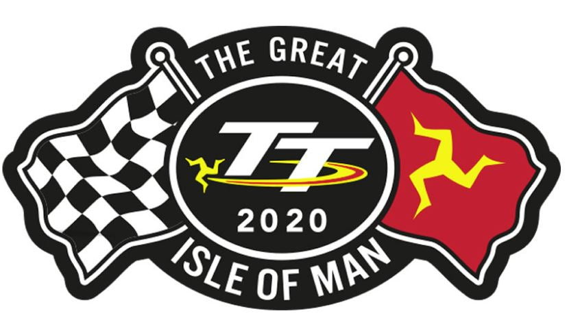Official Isle of Man TT Patch- CrossFlags
