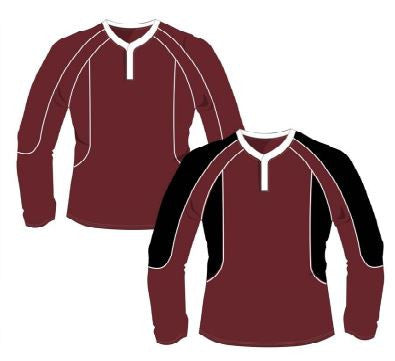 QEII High School - Reversible Rugby Shirt BOYS CLICK & COLLECT SERVICE ONLY