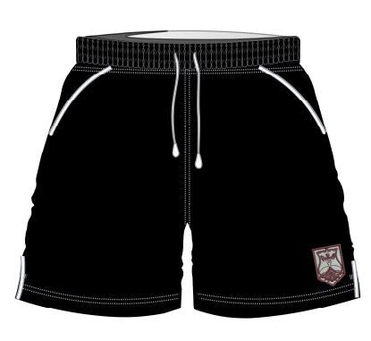 QEII High School - Embroidered Sport Short CLICK & COLLECT SERVICE ONLY