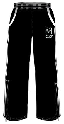 QEII High School -  Embroidered Track Pant CLICK & COLLECT SERVICE ONLY