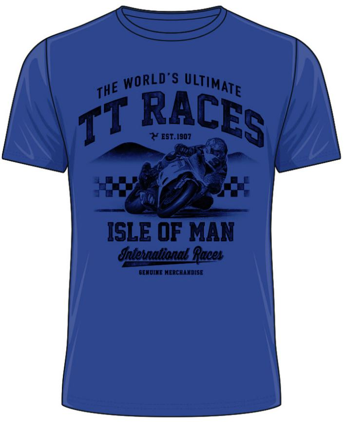 Official Isle of Man TT T-shirt - International ATS10 ATS11 ~(2 Colours)