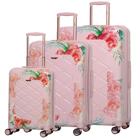 Suitcase Aerolite Rose Blush 8 wheel 815