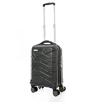 Suitcase with USB Charger Port Aerolite Smart Elevator 8 wheel 405
