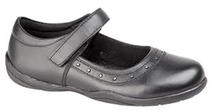 Girls Shoe Velcro LEATHER 773