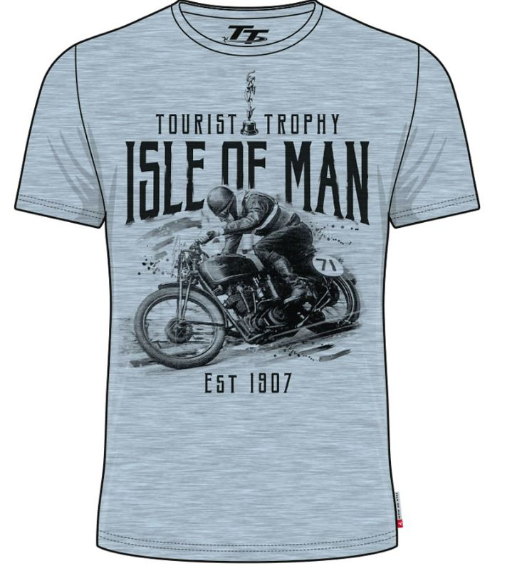 Official Isle of Man Vintage TT T-shirt Tourist Trophy VTS2