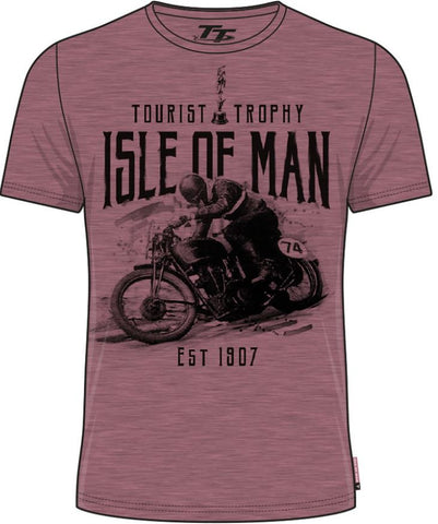 Official Isle of Man Vintage TT T-shirt Tourist Trophy VTS3