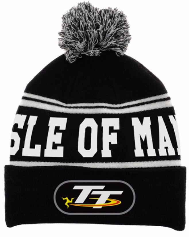 Official Isle of Man TT Bobble Beanie Hat