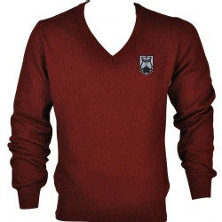"QEII High School - Embroidered Jumper 11 Years - XL (44"")"
