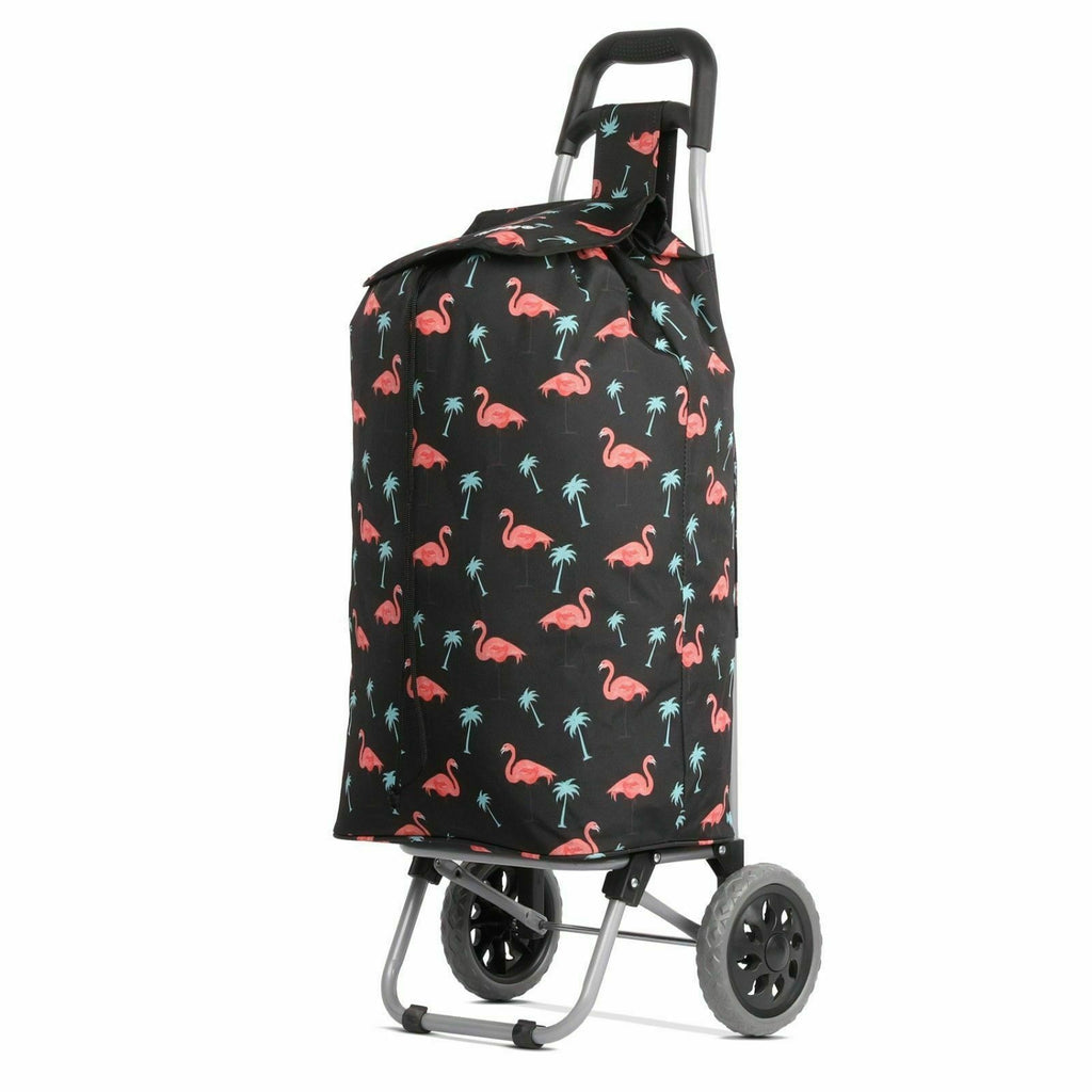 "Shopping Trolley Flamingoes 23"" ST375"
